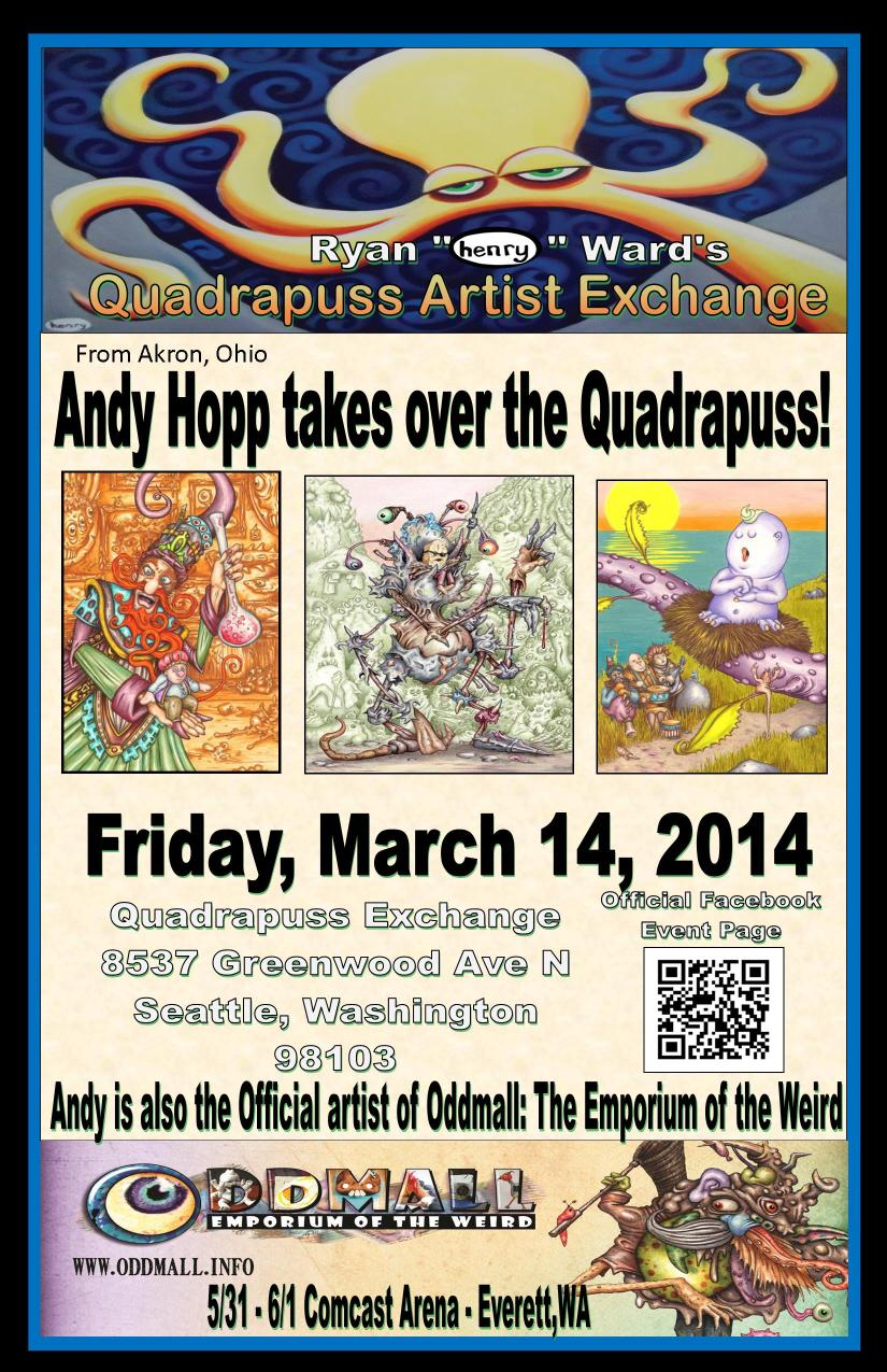 Andy Hopp is coming to town!