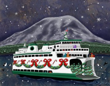 Jake_Hose_whimsical_art_Christmas_ferry_large